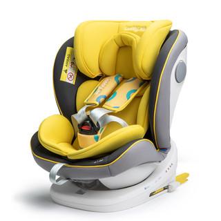 luddy 乐的 儿童汽车用安全座椅简易车载0-12岁婴儿宝宝可坐躺便携式通用坐椅