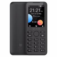 QIN 多亲 F21S AI学生老人手机 移动联通电信三网4G电话 直板按键 双卡双待 备用功能机 铁灰色