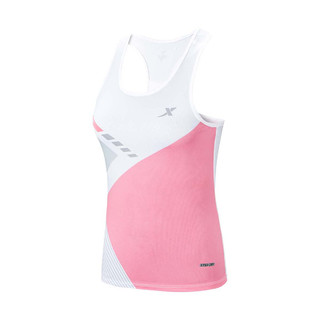 XTEP 特步 特步女背心马拉松跑步瑜伽健身百搭休闲女运动薄背心