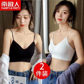 Nan ji ren 南极人 南极人少女文胸无钢圈薄款胸罩