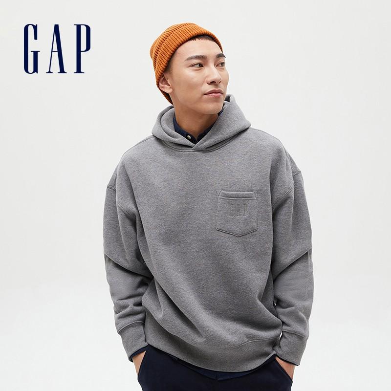 Gap 盖璞 656127 抓绒连帽卫衣