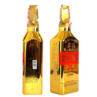 北京二锅头酒小方瓶金瓶浓香型白酒 52度500ml*6瓶整箱装