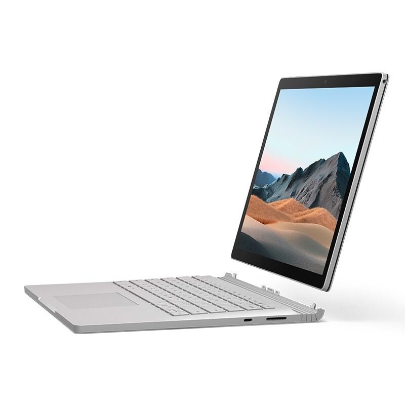 Microsoft 微软 Surface Book 3 13.5英寸笔记本电脑(i7-1065G7、32GB、512GB SSD、GTX 1650)
