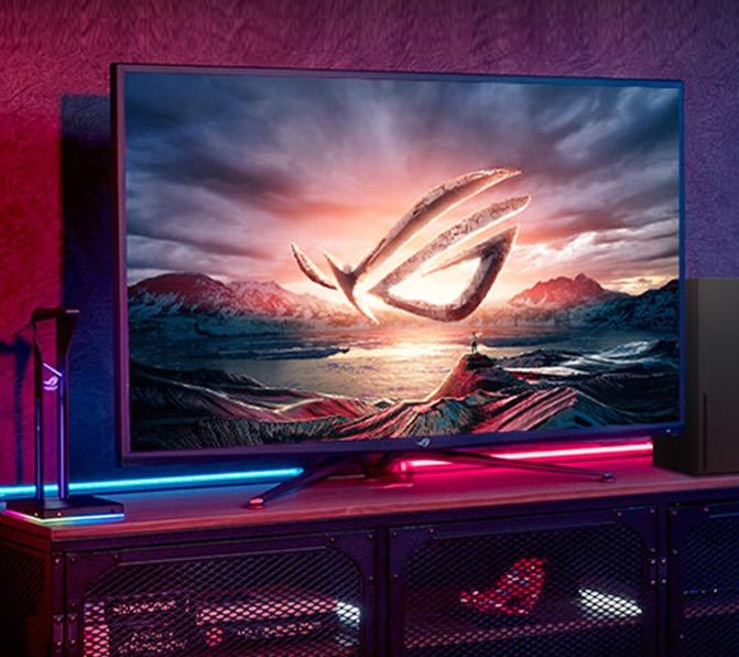 ROG XG43UQ玩家国度 43英寸VA液晶显示器(4K、144HZ)