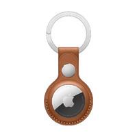 Apple AirTag 皮革钥匙扣 - 鞍褐色