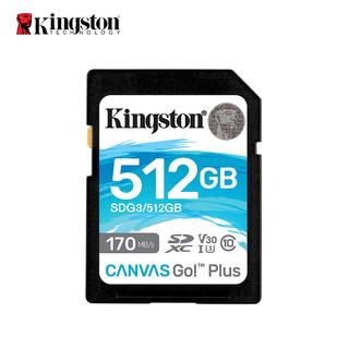 Kingston 金士顿 U3 V3 内存卡 512GB