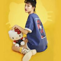LEDIN 乐町  Hello Kitty联名 CWDAB2F3953 女士T恤