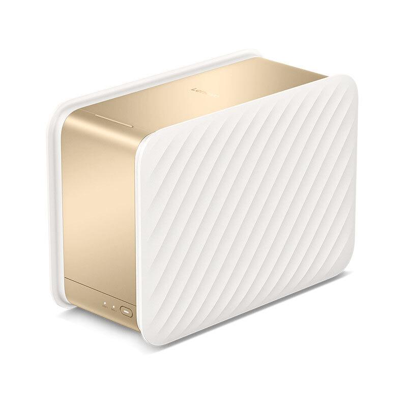 Lenovo 联想 个人云存储T2 私有云 双盘位 NAS存储(RTD1296、2GB)