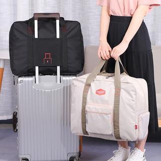 天逸   TINYAT折叠旅行包男士旅行袋手提行李袋大容量短途出差旅游行李包收纳袋T311-1黑色