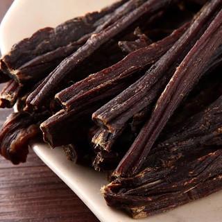 京东PLUS会员 : 易睿兹 内蒙古全干撕牛肉干 香辣味250g+香辣味250g共一斤