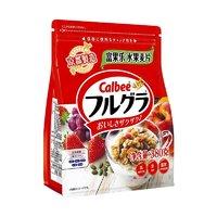 Calbee 卡乐比 卡乐比Calbee 日本进口水果麦片零食 冲饮谷物 营养早餐燕麦片380g