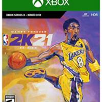 2K Games NBA 2K21: Mamba Forever 科比定制版 XBox One数字版游戏