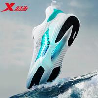 XTEP 特步 特步男鞋运动鞋2021夏季新款网面透气轻便减震跑步鞋