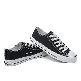 Feiyue. 飞跃 男女款低帮帆布鞋 DF/1-515 黑色 40