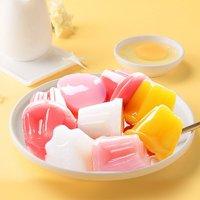 weiziyuan 味滋源 味滋源 水果酸奶果冻500g果冻布丁芒果草莓玉米混合味儿童零食品