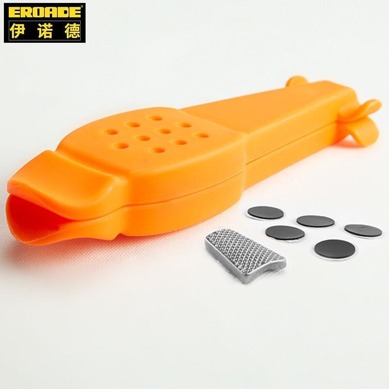 德国EROADE自行车撬胎棒扒胎工具免胶水补胎胶片补胎工具套装配件 橙色