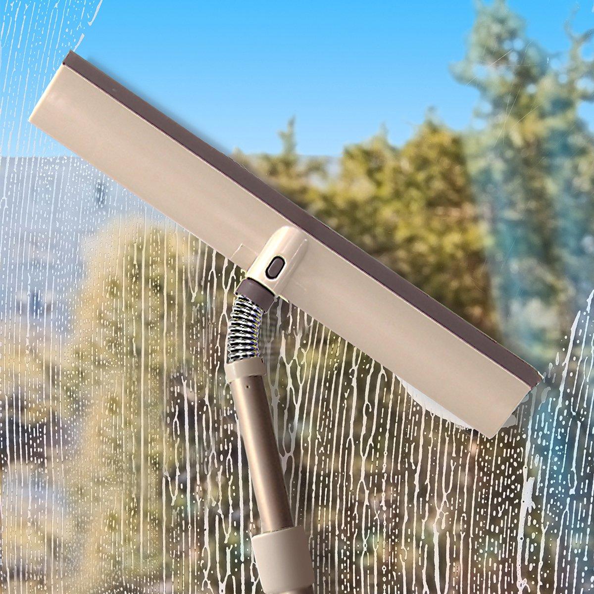 宝家洁  C3擦玻璃神器自由弯曲弹簧随意伸缩杆纱窗清洁刷玻璃刮擦玻璃工具