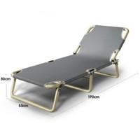 索乐 折叠床单人床午睡床办公室躺椅午休床午睡椅简易陪护行军床