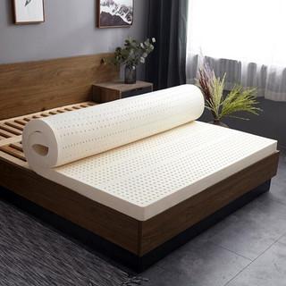 移动端 : 琳豆豆  泰国乳胶床垫 平板舒适款5厘米 90*190含内外套