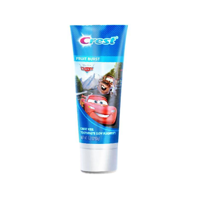 Crest 佳洁士 阶段型儿童牙膏 汽车总动员水果味 90g*2