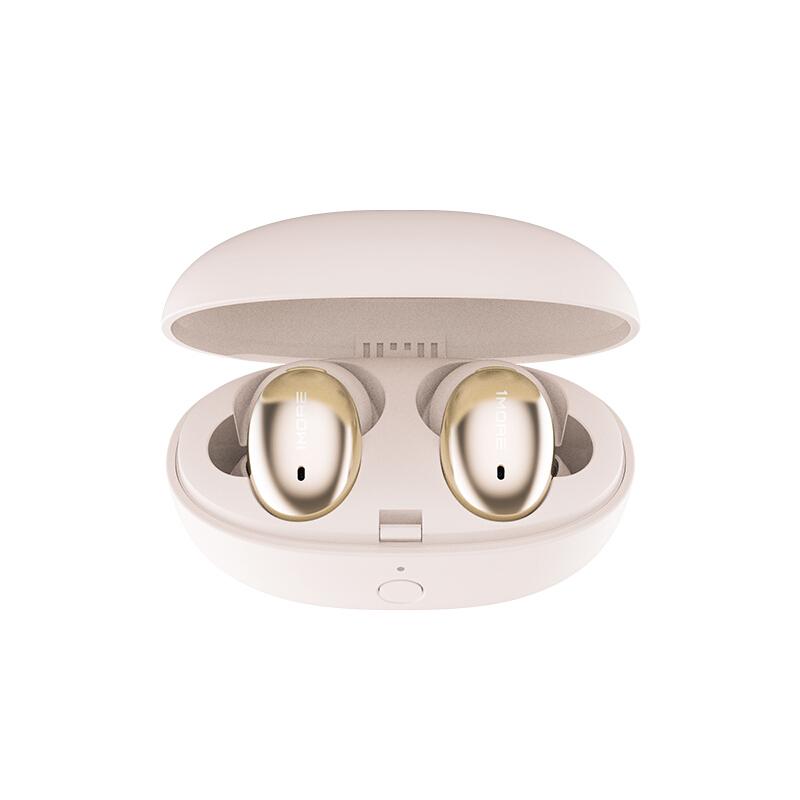 1MORE 时尚真无线蓝牙入耳式耳机 苹果华为小米通用 金色 1MORE Stylish 时尚真无线耳机-Ⅰ 粉色