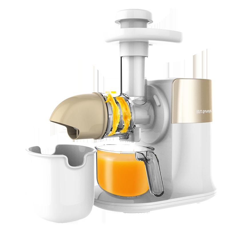 九阳(Joyoung)榨汁机电动水果多功能陶瓷螺旋挤压卧式原汁机Z5-E15