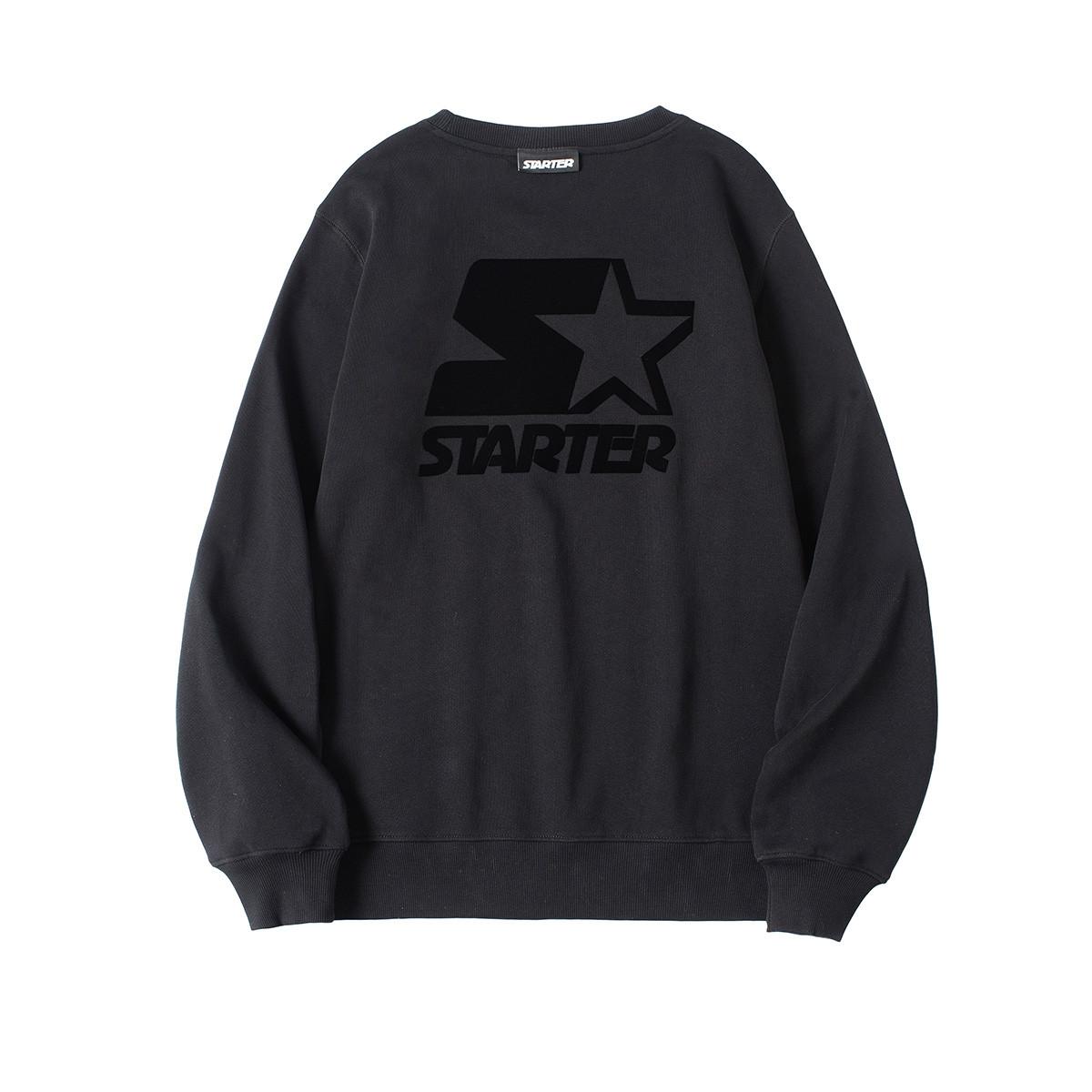STARTER 美国高端starter潮牌男式套头卫衣 黑色 M