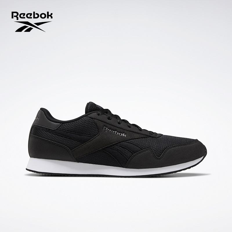 Reebok 锐步 奥莱运动经典 ROYAL CL JOGGER 3男子低帮鞋EF7797 黑 44.5