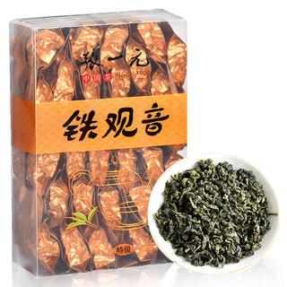 张一元茶叶  安溪清香特级铁观音乌龙茶240g盒30包