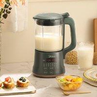 Midea 美的 1L家用小型全自动加热豆浆机破壁料理机