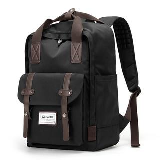 DiDe 迪德 迪德DiDe 双肩包男女时尚旅行背包 DQ974黑色