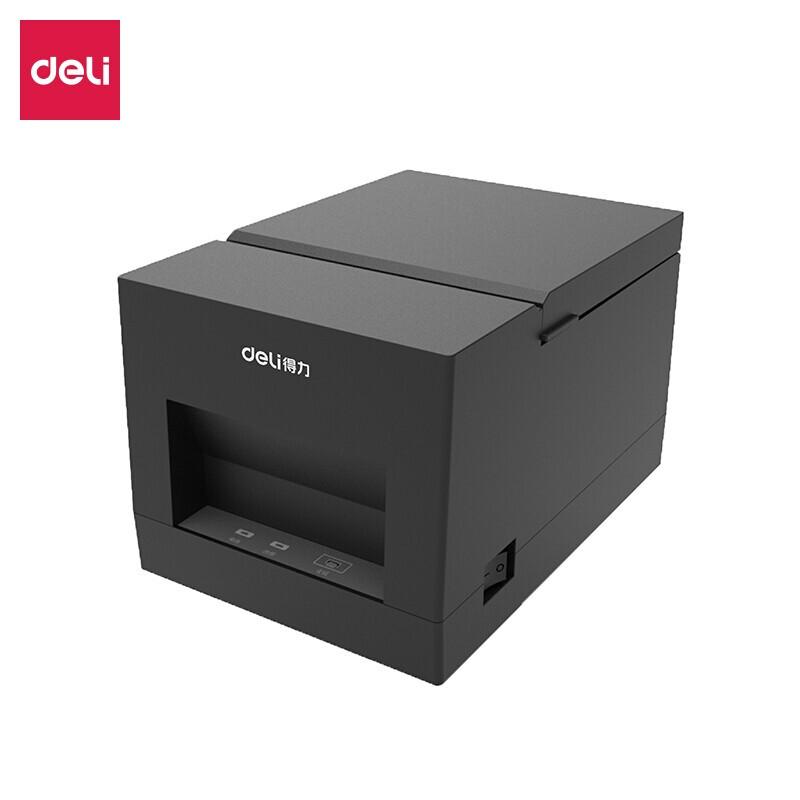 得力(deli)热敏票据打印机美团外卖饿了么外卖自动接订出单打印机收银小票机 蓝牙(58mm)DL-581PW