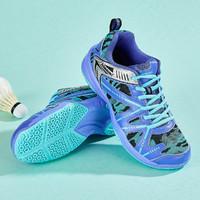 KAWASAKI 川崎 川崎 稳定耐磨减震 包裹性好透气男鞋女鞋羽毛球鞋运动休闲鞋