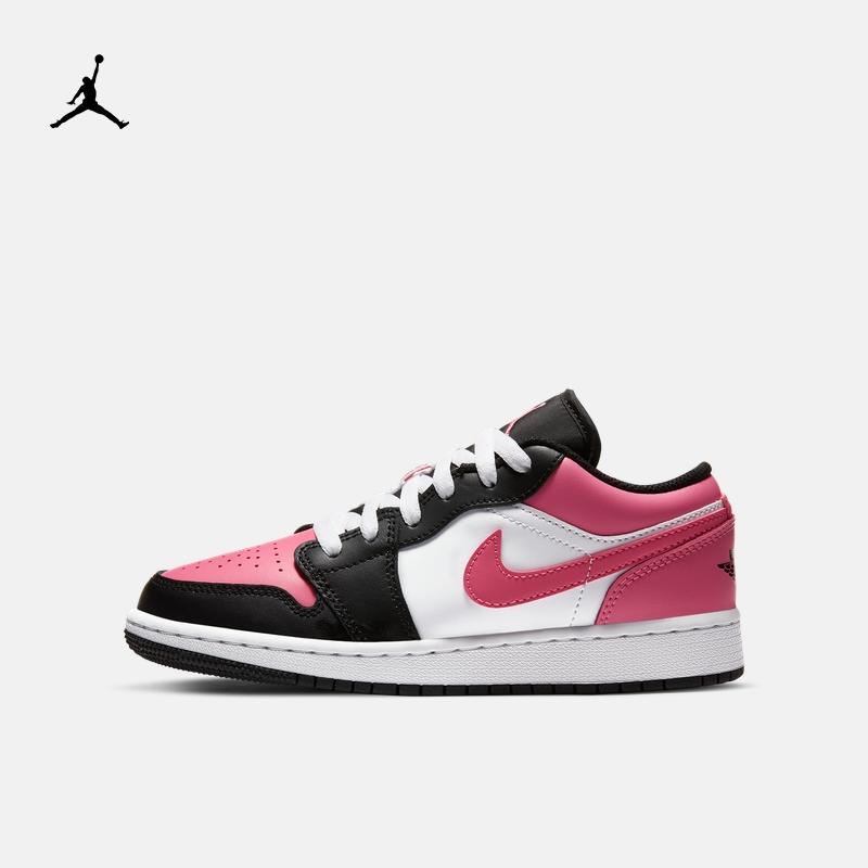 Jordan官方AIR JORDAN 1 LOW (GS) 大童运动童鞋休闲低帮554723
