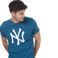 男士Team Logo NYY 圆领短袖T恤