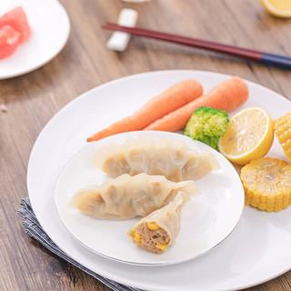 京东PLUS会员 : bibigo 必品阁 韩式王饺子 490g
