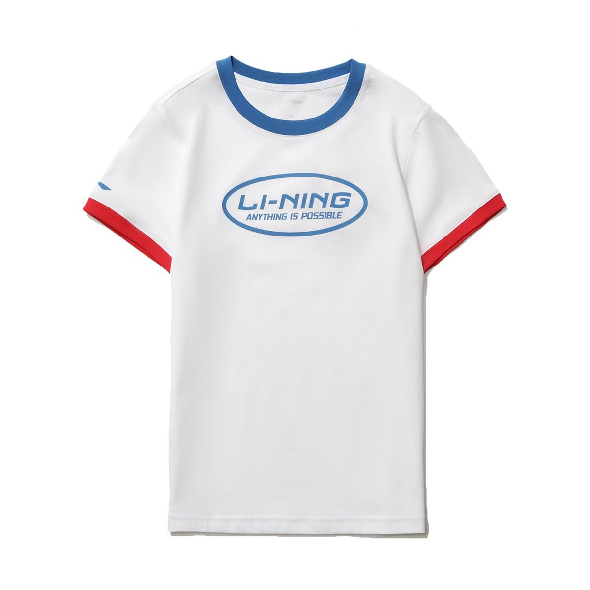 LI-NING 李宁 儿童短袖