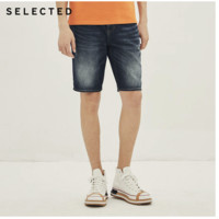 SELECTED 4202S3507 休闲牛仔短裤