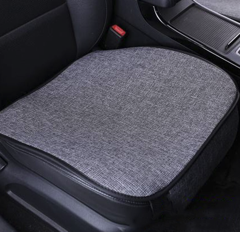 SHOUFU 首赋 亚麻汽车坐垫 全车套装 灰色