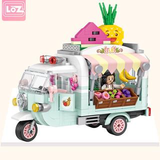 LOZ 俐智 小颗粒积木 1738 甜筒贩卖车