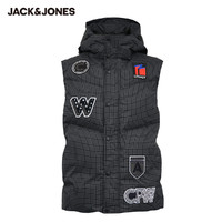 JACK JONES 杰克琼斯 219434501 男款连帽羽绒马甲