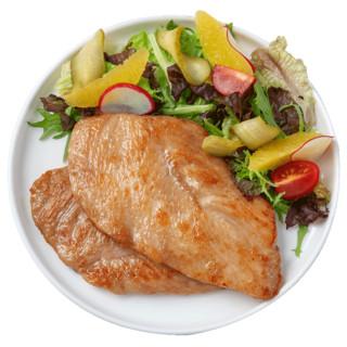 jueshi 绝世 绝世香煎鸡排鸡胸肉10片汉堡鸡块健身非油炸鸡扒新鲜半成品包邮