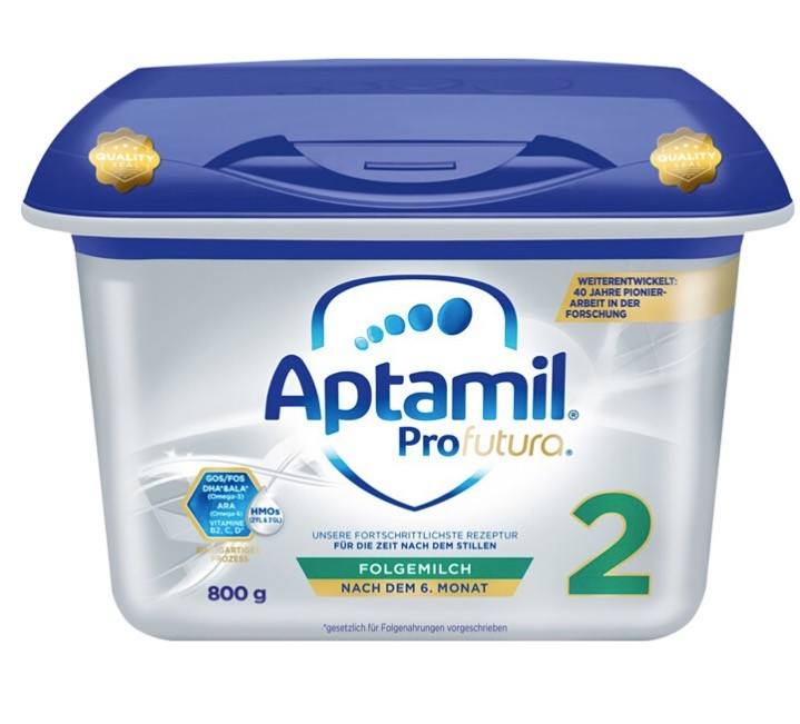 Aptamil 爱他美 白金版双重HMO 婴儿奶粉 2段 800g粉2段800g