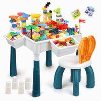 NUKIED 纽奇 多功能积木桌大颗粒儿童玩具