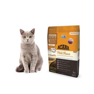 ACANA 爱肯拿 ACANA爱肯拿猫粮进口无谷农场盛宴鸡肉鱼幼猫成猫全猫粮5.4kg
