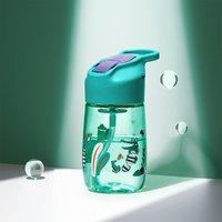 babycare 儿童水杯防摔防喷溅运动水杯便携式吸管杯