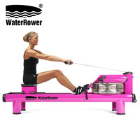 WaterRower 沃特罗伦 WaterRower美国原装进口水阻划船机M1高位紫色女王款