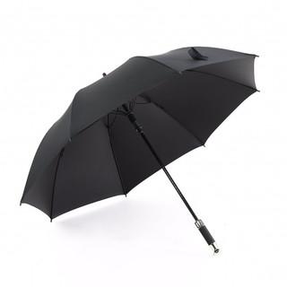 Neyankex 商务雨伞男黑胶防晒防紫外线遮阳伞高尔夫晴雨伞长柄半自动雨伞大号