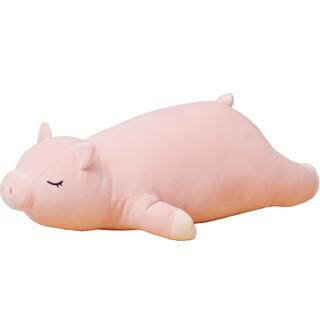 毛绒玩具娃娃公仔可爱猪床上趴趴玩偶小猪抱枕