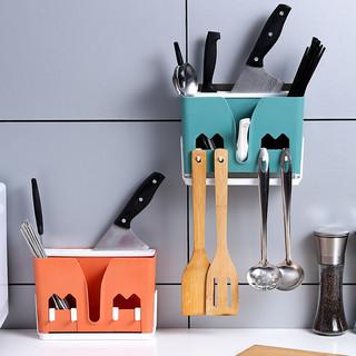 旗丰 筷子篓厨房沥水置物架收纳盒